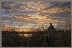 Young Hunters at Dawn